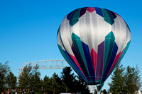 Hot Air Balloon Aerial Lift Bridge